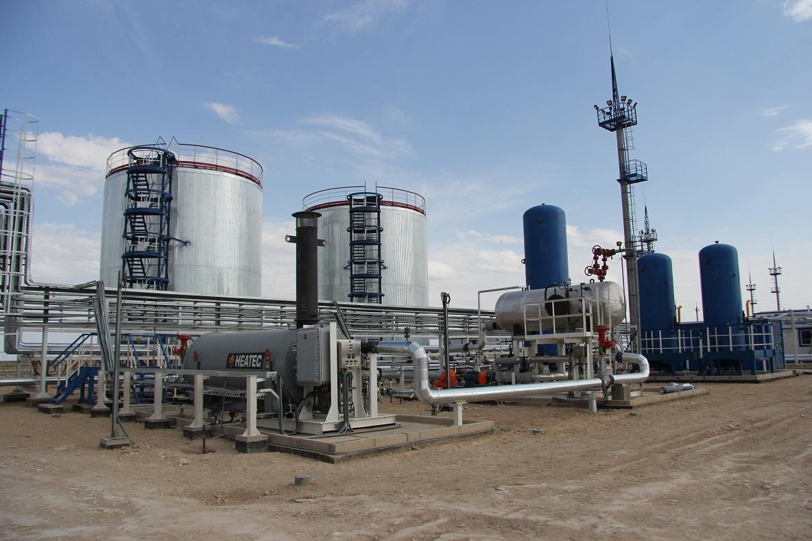 схема осушки природного газа методом охлаждения
