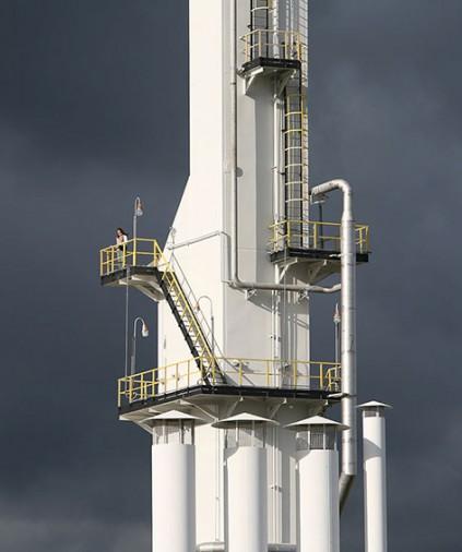 Криогенная установка переработки сухого отбензиненного газа