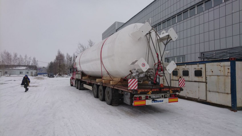 YUGRAMASH has completed three cryogenic reservoirs on