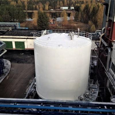 Строительство криогенного резервуара 500 м³ для хранения жидкого кислорода