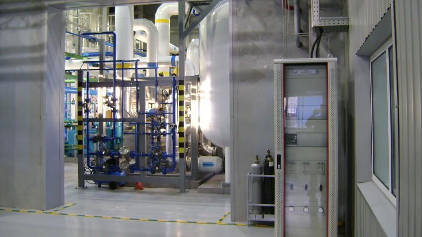 Запуск азотно-кислородной станции ООО