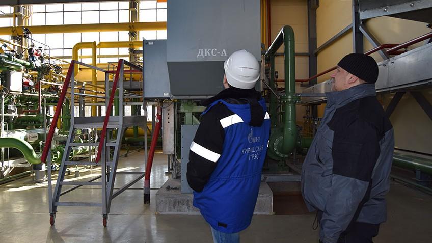 Kirishi Power plant compressor maintenance