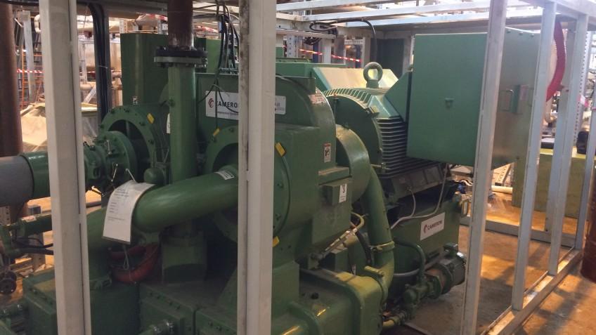 ШМР и ПНР компрессорной установки TA-3000 производства Cameron