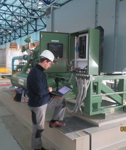 Диагностика работы компрессорного оборудования