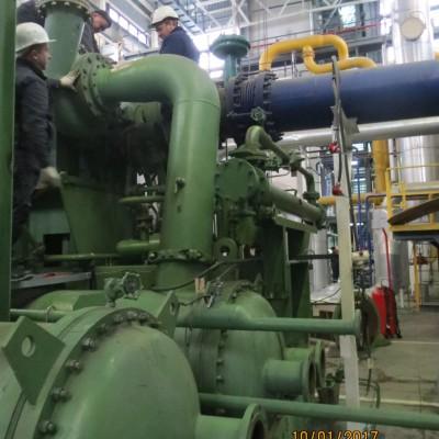 Ремонтные работы компрессорного оборудования ПАО