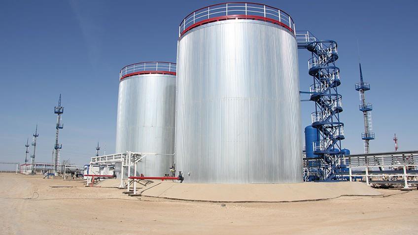 Установка комплексной подготовки попутного нефтяного газа