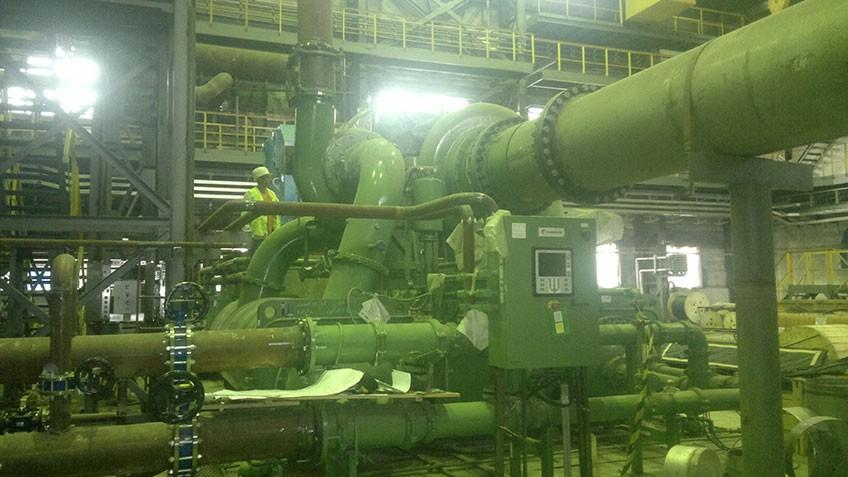 Ingersoll Rand compressors start up for