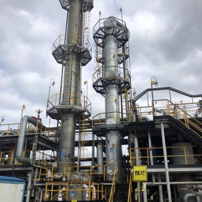 Модернизация установки очистки нефтяного газа от сероводорода Миннибаевского ЦПС