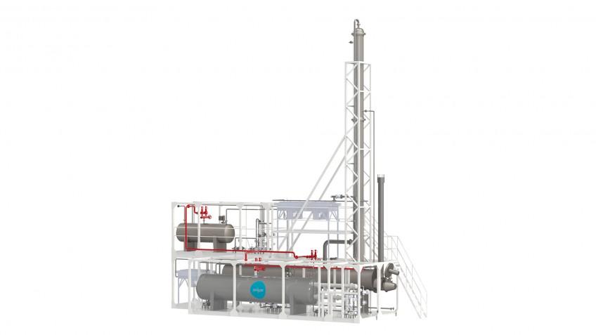 Установка регенерации метанола в блочно-модульном исполнении для ПАО