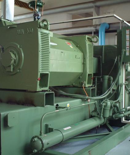 Kamyshinsky glass factory compressor equipment maintenance