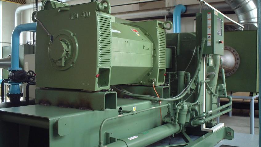 Сервисное обслуживание компрессорного оборудования Камышинского стеклотарного завода