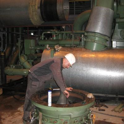 Сервисное обслуживание турбокомпрессора Cameron в составе ВРУ ТОО