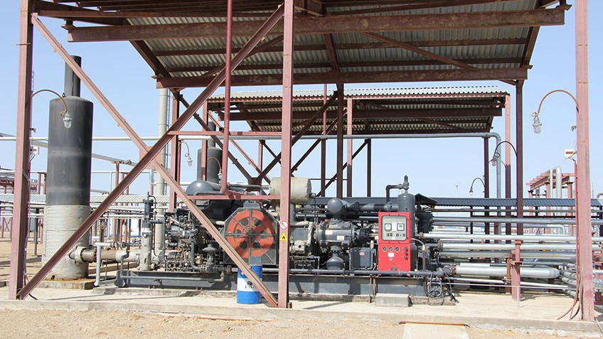 Associated petroleum gas processing plant