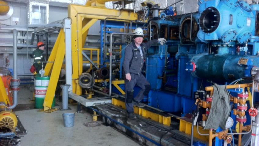 Техническое обслуживание компрессоров Миннибаевского ГПЗ