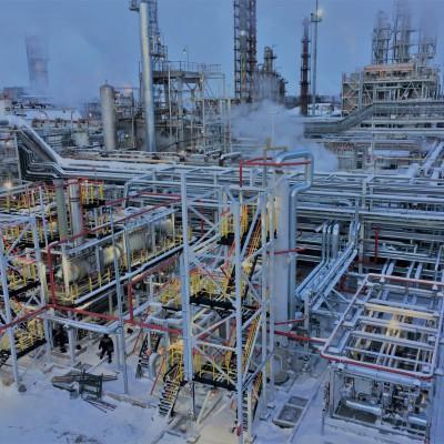 Установка осушки газа для нефтеперерабатывающего завода