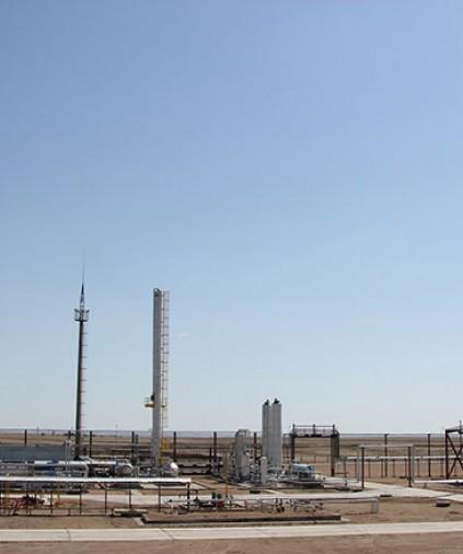 Установка комплексной переработки попутного нефтяного газа