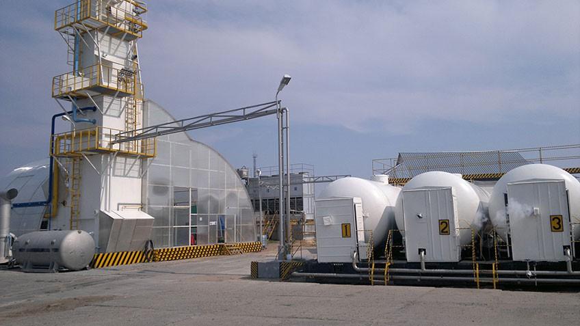 Установка получения жидкого азота и кислорода на базе ВРУ