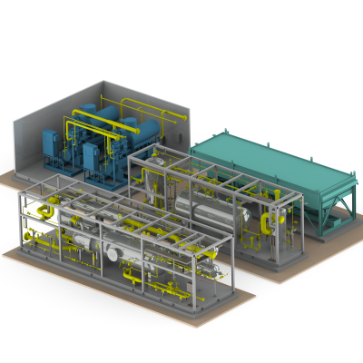 GazSurf awarded the propane cooling unit for Gas processing plant