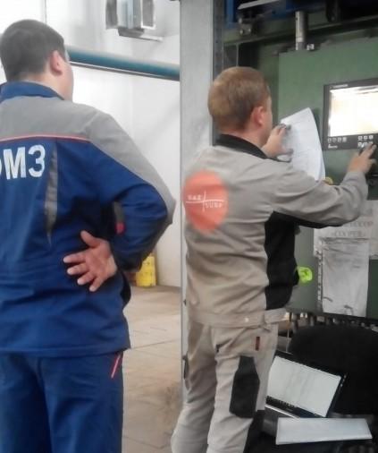 Техническая инспекция компрессора Cameron