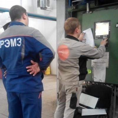 Проведена инспекция технического состояния компрессора Cameron