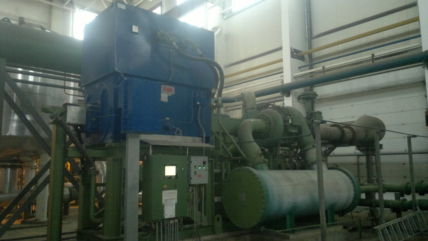 Cameron compressor technical inspection completed