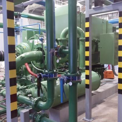 Шефмонтажные и пусконаладочные работы компрессора ТА6000 производства Cameron
