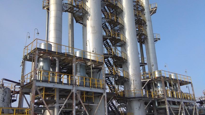 Увеличение производительности УСО Миннибаевского ГПЗ