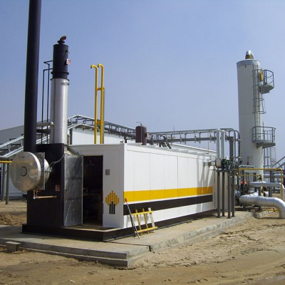 GAS PROCESSING: GOOD MONEY ON WASTE