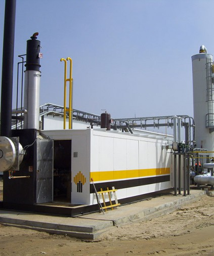 Gas Dehydration plant for