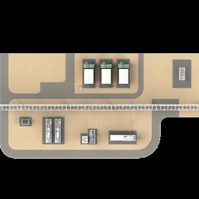 Установка подготовки газа и конденсата группы месторождений с системой сбора и транспорта